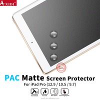 For IPad Pro 10.5 9.7 PAC Screen Protector Full Screen Cover Anti-scratch PAC Film Matte Screen Protector For IPad Table