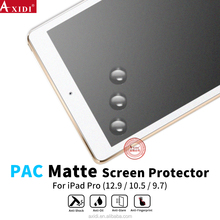 For Ipad pro 10.5 9.7 PAC screen protector , full cover anti-scratch PAC film matte screen protector for Ipad table