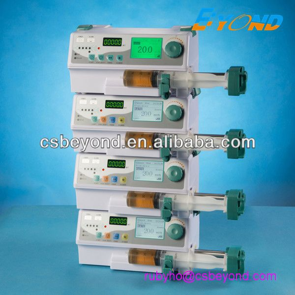 automatic syringe pump/BYZ-810D with antibolus function