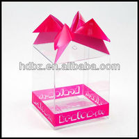 Especial Shape Offset Printed Transparent Plastic Gift Box