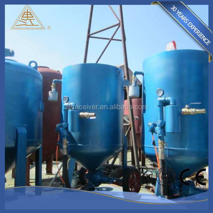 Factory high quality portable dust-free soda sand blasting pot bulk buy from china