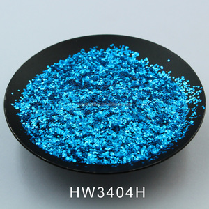PET heat resistant Aluminum glitter powder for plastic injection