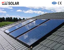 buildings solar water heater collector flat panel pressure of hot water heater