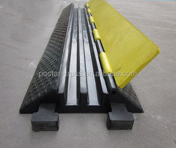 Prompt! USD16 top quality 2 channel cable ramps cable covers