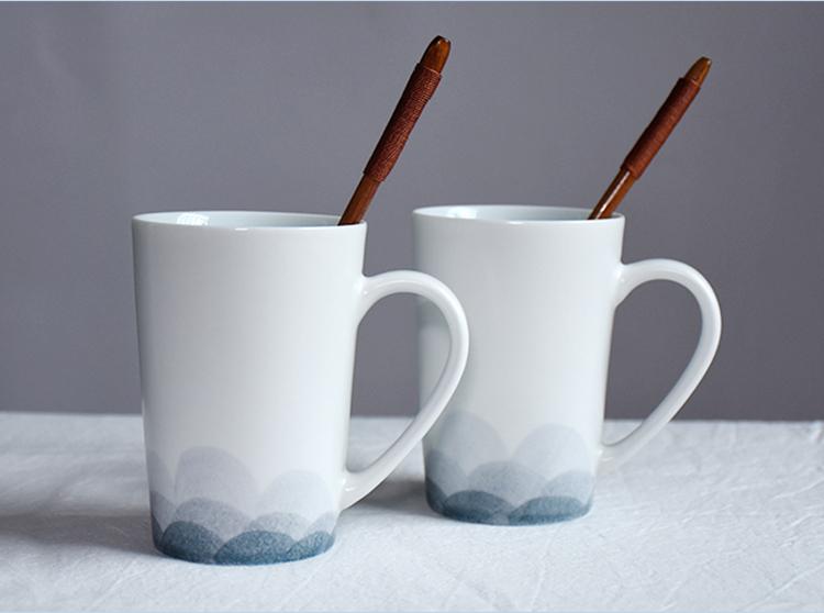 Chengrui ceramic brand wholesale blank ceramic Matt tea porcelain mug