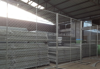 6' Temporary Commercial Fence Panel temporary Emergency Fencing