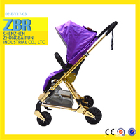 new model the pram shenzhen leather car seat tricycle baby stroller