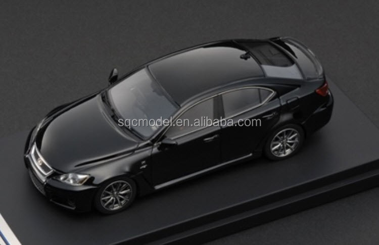 143 scale oem black is resin toy model car