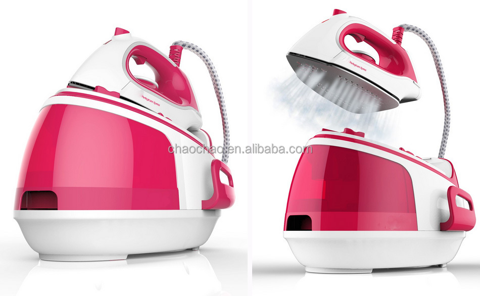 refilling system steam station iron with 4.5 bars pressure