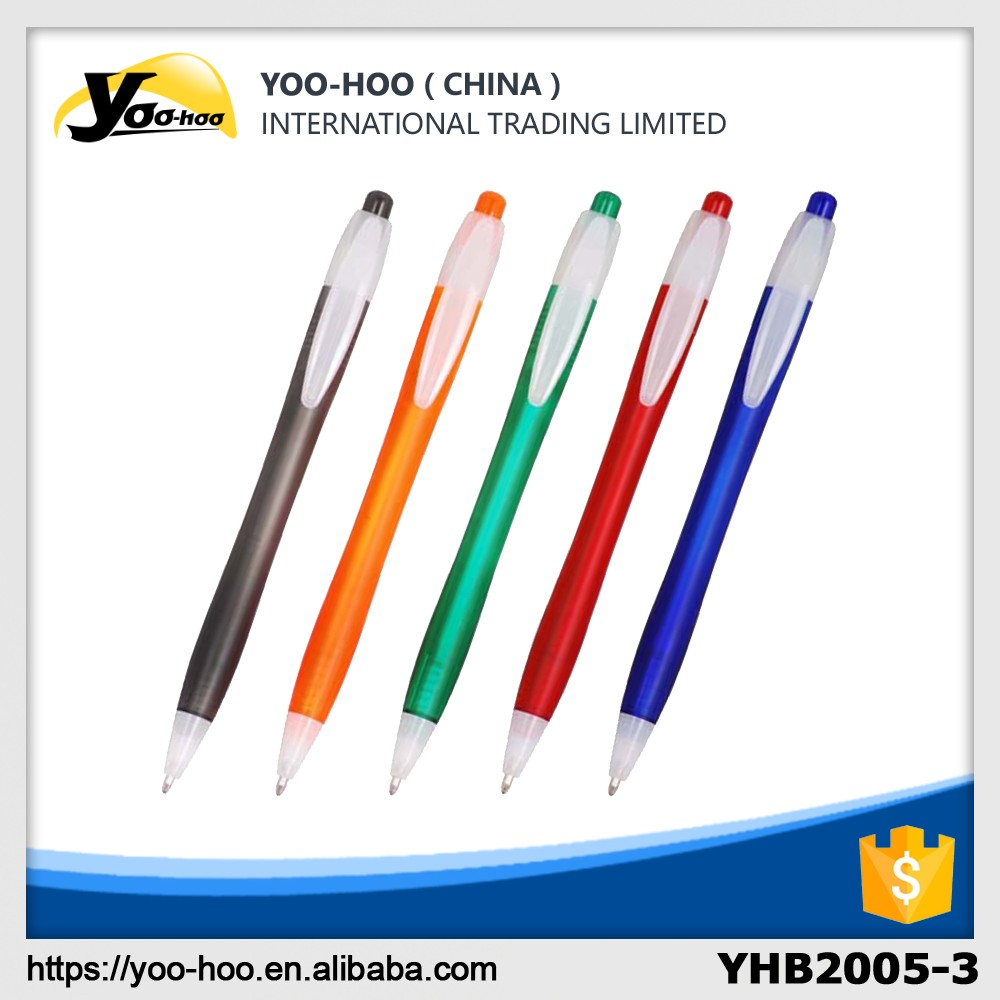 Ball pens with printed logo for promotion