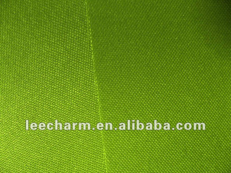 Grass Green Pongee Fabric for Artificial Plant Material