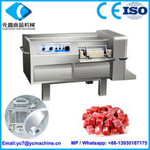 Meat Cube Cutting Machine|Meat Dicing/Slicing machine|meat slitter machine