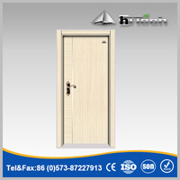 China Factory Solid Wood Interior Entry Door