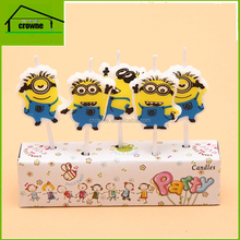 Creative children's cartoon candle car letter balloons candles birthday party birthday cake candles