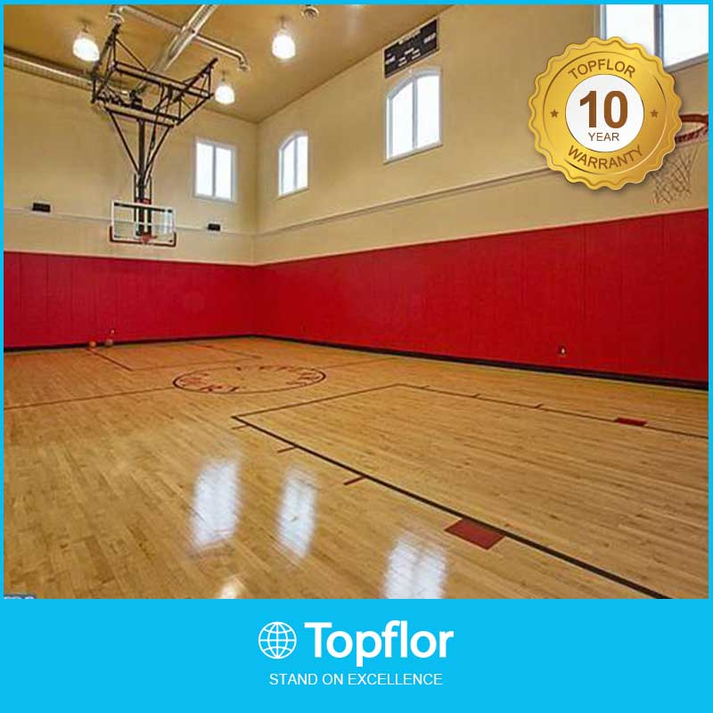 Recycled indoor pvc basketball Sports flooring