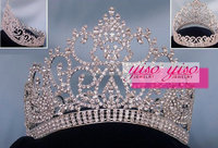 fashion royalty queen colored crystal rhinestone tiaras