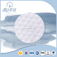 Good quality Soft round High grade approved design cotton pads
