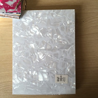 2.5 mm white ICE sheet pvc acrylic material