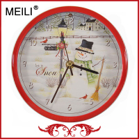 Fashion Design Christmas Decorations Wall Clock