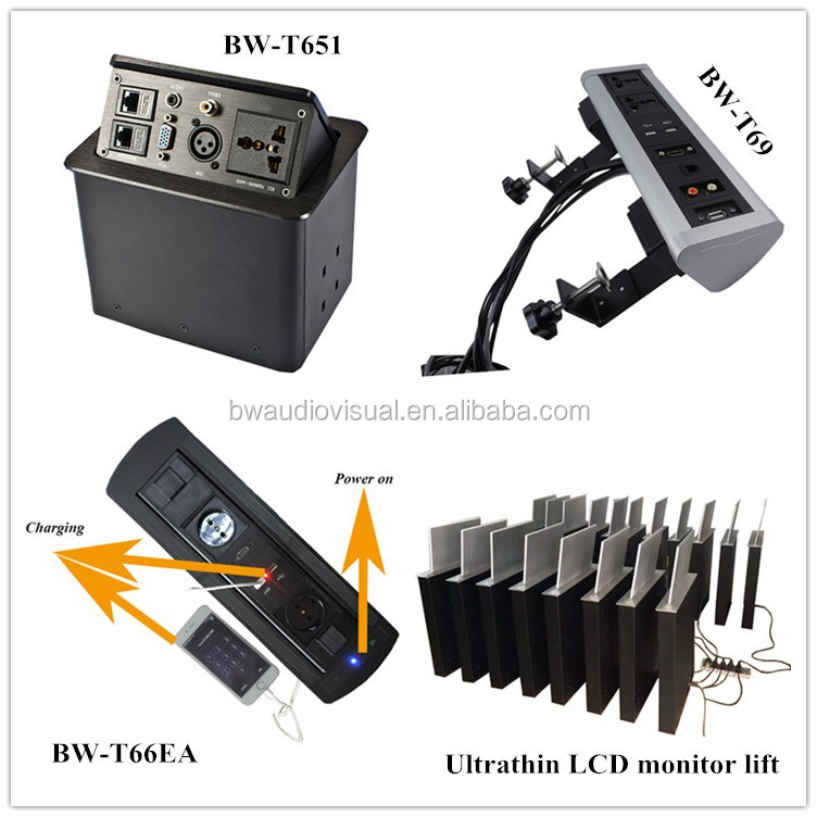 Public table 5V USB charger mobile power USB charger table outlet for different kind of cellphone