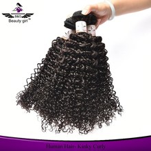 virgin remy kinky curly hair weft ,cheap tight curly peruvian hair 3 bundles