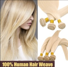 Wholesale Brazilian human hair, blonde hair weave