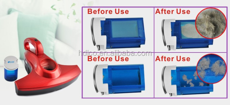 cordless handheld uv sterilization bed mattress sofa vacuum cleaner
