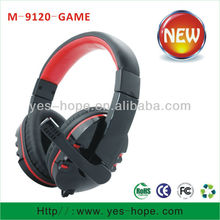 2013 Best quality fashional cross headphones with microphone from china headset factory