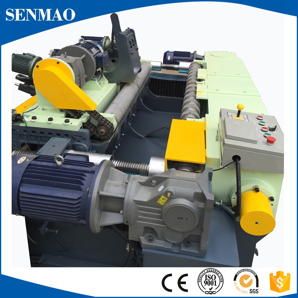 spindle wood veneer peeling machine/1300mm combined wood venner peeling machine