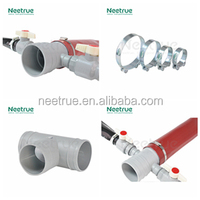 1-10 inch high pressure lay flat plastic pvc pipe fitting