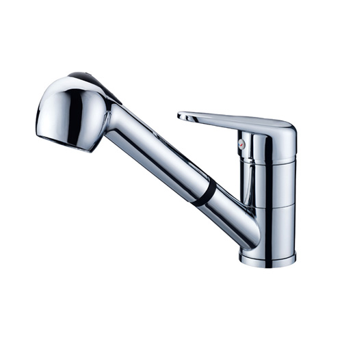 china hot and cold water kitchen sink faucet wholesale wholesale and retail promotion new chrome brass kitchen