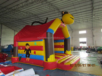 TOP PVC animal inflatable monkey bouncer for sale!