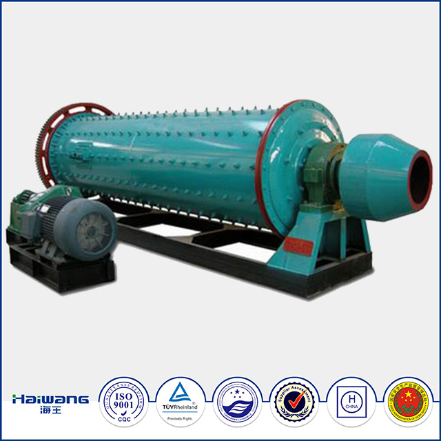 2016 Haiwang High Safety And Energy Saving Mini Ball Mill , Ball Mill Prices , Cement Plant