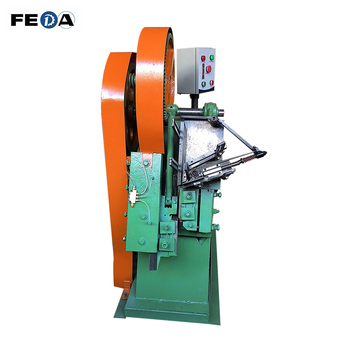 FEDA automatic fasteners machinery rebar thread forming machine nut bolt manufacturing machinery price