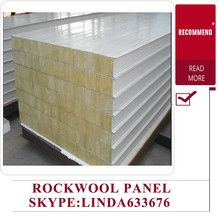 factory price stone wool insulation /mineral wool/rockwool sandwich panel