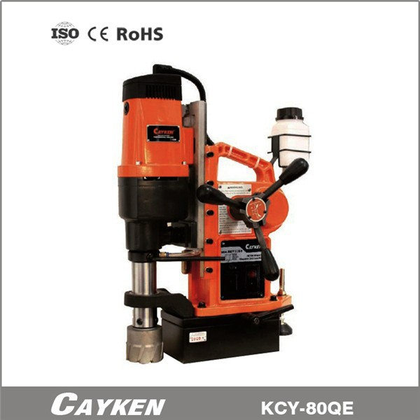 automatic magnetic drill stand magnetic drilling machine with top quality KCY-80QE