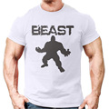 Wholesale Best Designer Bodybuilding Gym Wear Cheap White Plain Mens Muscle Fit T Shirts