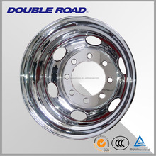 Chinese wholesale steel semi truck wheels rims 10 holes price 22.5x9.00 22.x11.75, truck alloy aluminum wheel rim 11.75x22.5