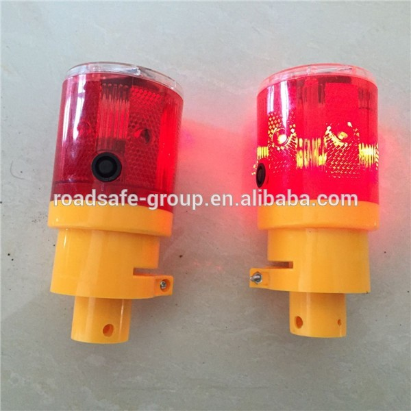 Solar Road Construction Traffic Safety LED Warning lights