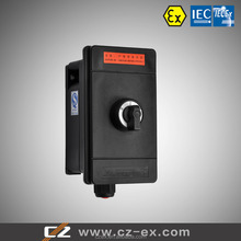 IECEx&ATEX Certified Explosion Proof 4 Pole Switch For Panel Mounting