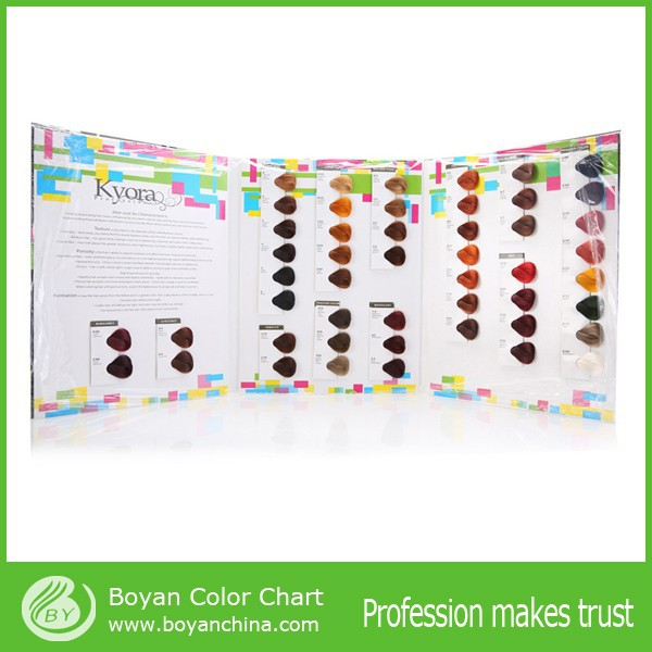 Boysen paint hair color chart, Hair color swatch chart for color chart manufacturer
