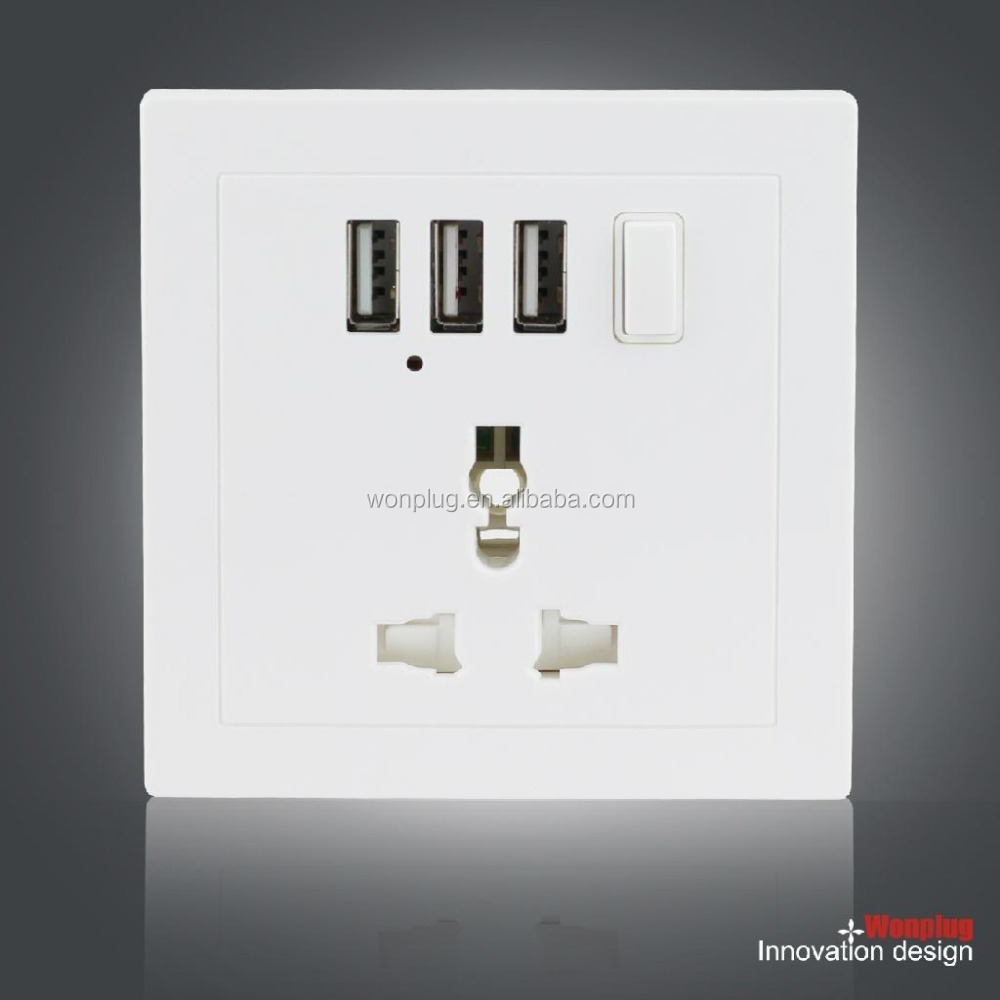 usb wall charger outlet,universal wall mounted usb outlet