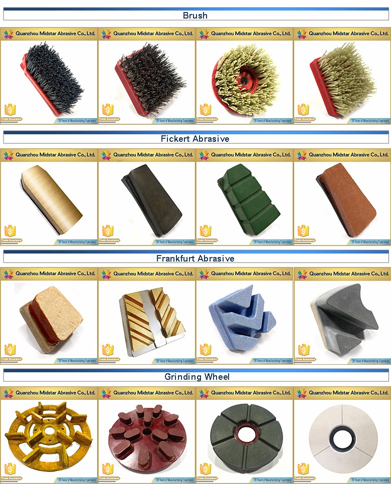 factory price marble polishing diamond wet brush supplier