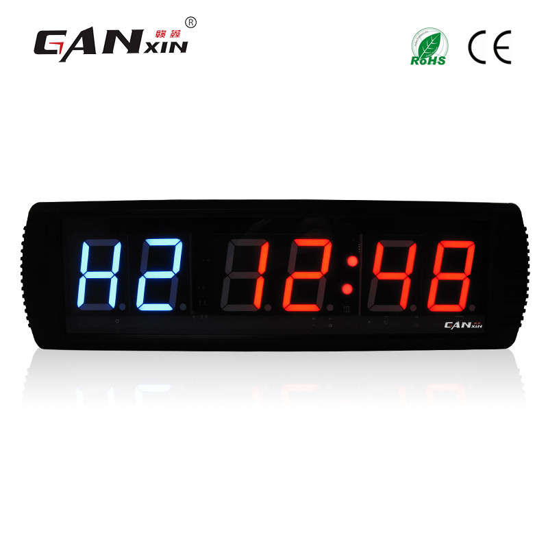 [Ganxin]Indoor Shockproof 3'' Remote Control Led Fitness Timer Electronic Exercise Gym Fitness Crossfit Timer