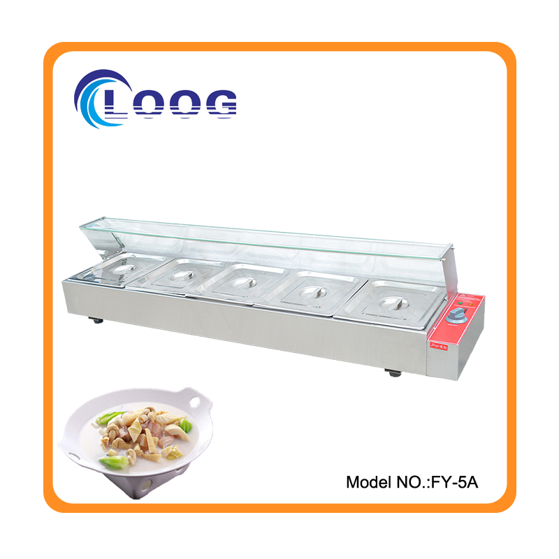 Professional Kitchen Equipment Buffet Stainless Steel Food Warmer Commercial Bay-Marie