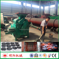 Factory direct sell ball shape 8ton/h high yield shaping machine for charcoal powder