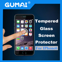 factory direct sell clear transparent tempered glass screen protector for iphone 6 glass screen protector
