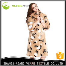 High Quality Cheap Korean Ladies Fancy Cashmere Wool Fur Coat