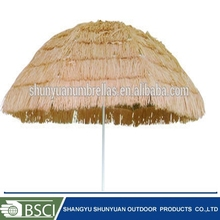 pp grass beach hawaii straw outdoor umbrella