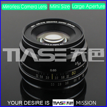 Half frame 50mm fixed focal length F2.0 ED glass manual focus IRIS NEX MFT J1 V1 NIKKOR FX mount camera lens